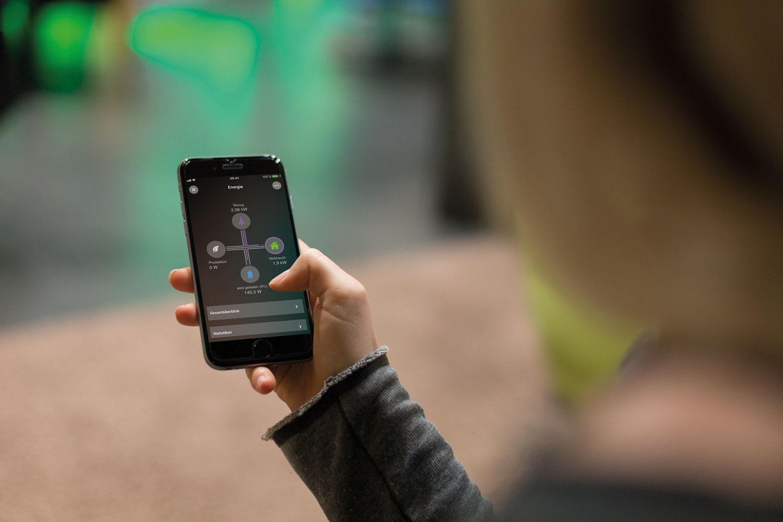 loxone aplikacja mobilna do zarządzania energią