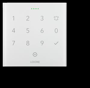 Loxone przycisk dotykowy NFC biały