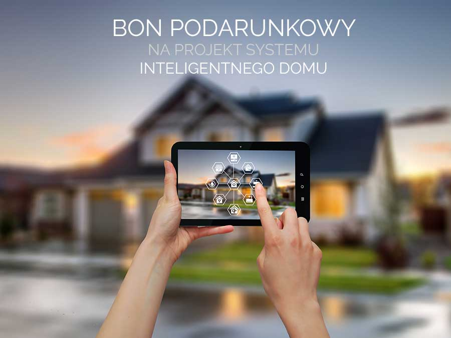 bon podarunkowy na projekt systemu inteligentnego domu